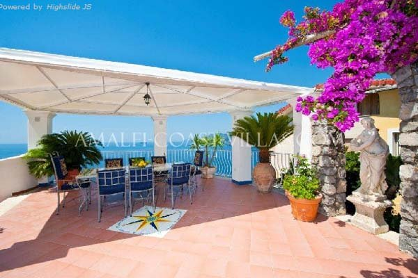 Amalfi coast villas and apartments for rent