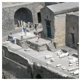 excavations of Ercolano